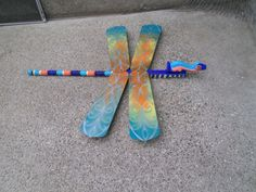 Fan blades and spindle...dragonfly
