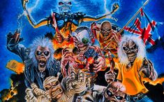 Iron Maiden lanzará su nuevo disco en septiembre