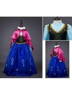 Frozen Vestito Carnevale Maschera Anna 789002B