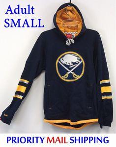 39.00 Buffalo Sabres Reebok Hoodie Adult SMALL NHL FaceOff SewnOn  Embroidered Logo NWT  Reebok  Pullover  nhl faloSabres  NHL  nhlhockey   NHLSabres 54401c5cd