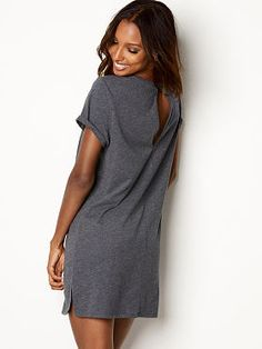 a3f03991d3 Keyhole-back Sleep Dress Sleep Dress