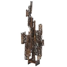 Brutalist Sculpture by Marcello Fantoni | From a unique collection of antique and modern sculptures at http://www.1stdibs.com/furniture/more-furniture-collectibles/sculptures/
