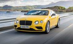 2016 Bentley Continental GT Speed / GT V8 S coupe $196,225
