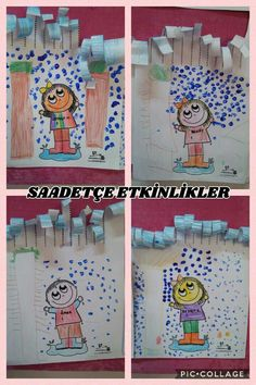 Preschool, Arts And Crafts, Seasons Of The Year, Autumn, Winter Time, Scissors, Create, Paper Envelopes, Manualidades