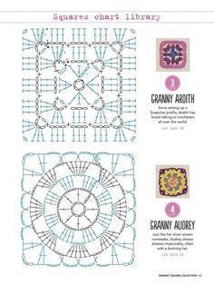 Kira scheme crochet: Scheme crochet no. 2033