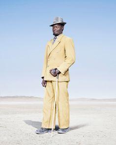 Herero man, Namibia