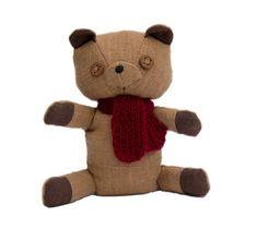 Clove bear light brown teddy scented teddy bear cute by AbbuToys