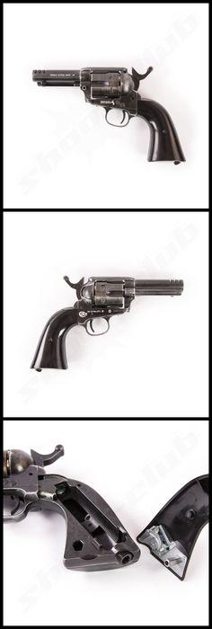 "Colt SAA .45 custom shop edition CO2 Revolver 4,5mm 3,5"" Lauf #shootclub   www.shoot-club.de"
