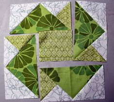 Persimon Dreams: Lucky Clover Vision Block Tutorial: 52 Twisted Tradition Blocks QuiltAlong