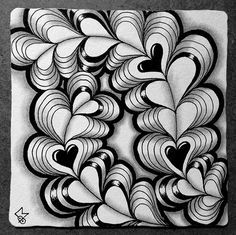 Heartswell – Square One Focus Helen Williams, Heart Doodle, Doodle Art Designs, Zentangle Patterns, Zentangles, Heart Illustration, Painting Gallery, Heart Cards, Heart Patterns