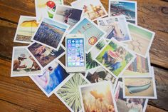 Smart Prints are perfect for your smart phone & #Instagram images. Set of 24 in craft paper box $24.99