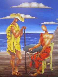 Classical Period, Classical Art, Greece Painting, Greece Art, Hellenistic Period, Minoan, Artist Art, Surrealism, Contemporary Art