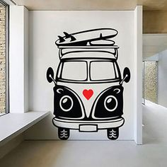 Volkswagen T1 Bus Template Stencil Print Awesome For