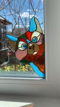 Please enjoy this funny video 😁 This gorgeous stained glass suncatcher is a beautiful decor for your home. It will pass the coziness and peace to the entourage of your house. Stained Glass Paint, Custom Stained Glass, Stained Glass Flowers, Stained Glass Suncatchers, Stained Glass Designs, Stained Glass Projects, How To Do Stained Glass Diy, Stained Glass Window Hangings, Stained Glass Cabinets