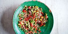 Tabbouleh with Pistachios via @iquitsugar