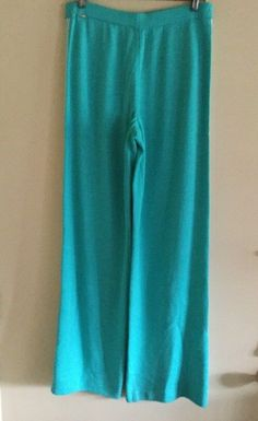 St John Sport Marie Gray Santana Knit Elastic Waist Pants Size Medium NWT    eBay