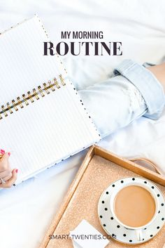 I'm seriously in love with my morning routine and in this post I share exactly what I do and why I do it
