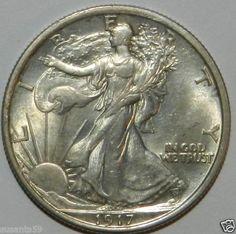 1917 P Walking Liberty Half Dollar. BU++ $135.00 + 5.50 Shipping