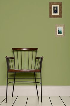 Farrow and Ball colour 13 - omg that chair!