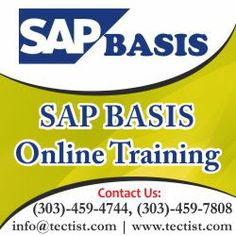 SAP BASIS online training providing you by real time experts at Tectist. http://www.tectist.com/sap-basis-online-training.html #sapbasisonlinetraining #basistrainingonline #onlinetraining