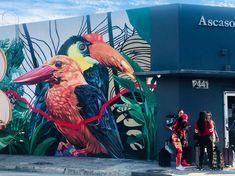 有街區管理的街頭塗鴉|邁阿密 & 倫敦 Places, Painting, Painting Art, Paintings, Painted Canvas, Drawings, Lugares