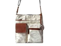 Concealed Carry Signature Pewter Crossbody Purse