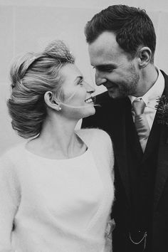 Image by Marshall Gray - Stylish London Winter Wedding At The Institute of Contemporary Arts With Bride In Structured Gown From Pink Confetti Leicestershire With Groom In Bespoke Suit From Peckham Rye With A Vintage Route Master Bus And Images By Marshall Gray