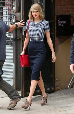 Exhibit A: Taylor has the ability to shift her eyes in just the right position. Her hips have this majestic quality to them. They're almost inhuman.