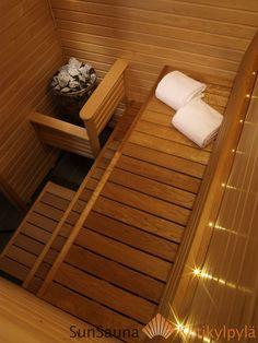 Sun Sauna Swing, lämpökäsiteltyhaapa, saunaremontti