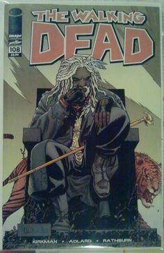 Walking Dead: Ezekiel Has A Tiger
