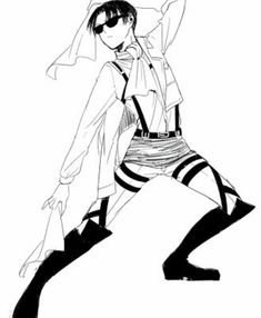 Levi Ackerman / Attack on Titan / Shingeki no Kyojin Otaku Anime, Manga Anime, Anime Gifs, Fanarts Anime, Anime Meme, Anime Art, Armin, Eren E Levi, Mikasa