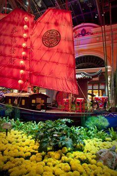 Vegas Fun, Las Vegas City, Las Vegas Trip, Las Vegas Nevada, Travel Info, Travel Usa, Bellagio Conservatory, Chinese Background, Vegas Lights