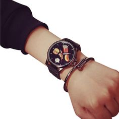 $2.39 (Buy here: https://alitems.com/g/1e8d114494ebda23ff8b16525dc3e8/?i=5&ulp=https%3A%2F%2Fwww.aliexpress.com%2Fitem%2FUnique-style-Watch-men-Stainless-Steel-food-pattern-simple-Quartz-Analog-Wrist-Watch-relogios-masculino-horloges%2F32718314957.html ) Unique style Watch men  Stainless Steel food pattern simple Quartz Analog Wrist Watch relogios masculino horloges mannen #48 for just $2.39