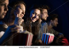 Image result for friends at the movies