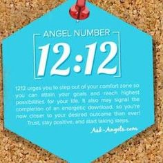"""Is 1212 an """"Angel Number? brings a message for you from your angels yes, but there's sooo much more to this Ascension Code and Spiritual Awakening # Angel Number Meanings, Angel Numbers, Numerology Numbers, Numerology Chart, A Course In Miracles, Spiritual Guidance, Spiritual Meaning, Spiritual Life, Messages"""