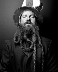 long Beard Styles men are a combination of never seen before designs as well as return of classic beards and mustaches. Long Beard styles tend to work best. Beards And Mustaches, Bad Beards, Long Beards, Long Beard Styles, Justin James, Awesome Beards, Beard Tattoo, Beard No Mustache, Great Photographers