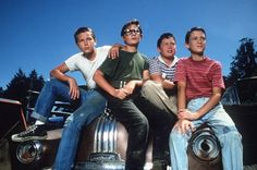 Stand By Me Cast! One of my favorite movies of all time when I was a kid.