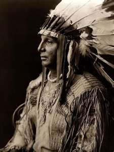 Blackfoot Indian Chief Cherokee Indian Chief
