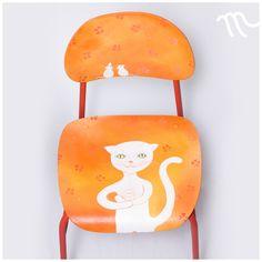 Bílá kočka, bílá myš Chair, Furniture, Home Decor, Decoration Home, Room Decor, Home Furnishings, Stool, Home Interior Design, Chairs