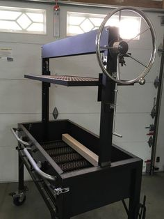 Wood Burning Grill You will not find a more WELL-BUILT American-made wood-burning grill than this one! These are custom designed wood-burning grills, fabricated and built with extreme care and quality, locally in Scottsdale, Arizona. These grills are extr Wood Design, Custom Design, Design Grill, Barbecue Design, Santa Maria Grill, Bunk Bed Designs, Built In Grill, Bbq Grill, Asado Grill