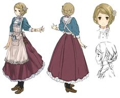 Tiffani Concept from Atelier Rorona: The Alchemist of Arland