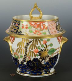Porcelain Fruit Cooler, poss. Worcester