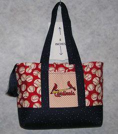 Cardinals! Love this bag!