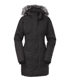 The North Face Womens Arctic Down Parka Graphite Grey