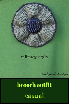 Brooch outfit casual is womens accessory at military style 28$ #brooch #outfit #casual #military #style