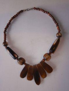 1 Halskette aus Indien Kette Schmuck Hippie Goa Nr.5 neu Folkloreschmuck Ethno