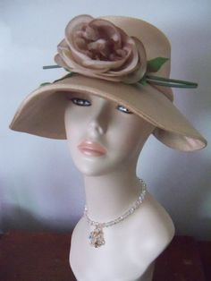 Vintage  1950s satin hat by fromtheattic1 on Etsy, $45.00