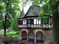 Brunnenhaus der Poppenröder Quelle in Mühlhausen/ Thüringen