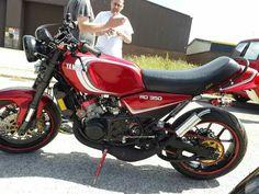 Another 100 rear wheel horsepower hybrid RDLC! Yamaha Motorbikes, Yamaha Bikes, Vintage Motorcycles, Cars And Motorcycles, Cafe Racer Moto, Sportbikes, Motorcycle Design, Mopeds, Custom Bikes