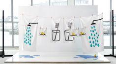 TVINGEN bath towel, washcloth, hand towel and bath sheet. cute and fun bathroom towels